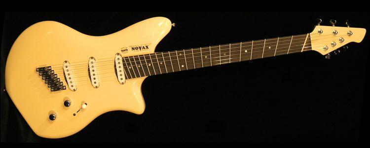 Novax Sassy Annie - 25th Anniversary commemorative guitar